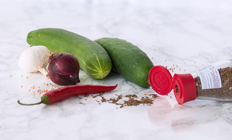 Ingemaakte komkommer 2